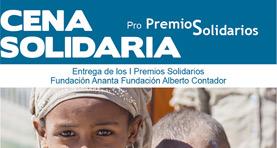 Cena Solidaria entrega de Premios 2014