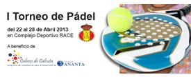 I Torneo de Pádel solidario